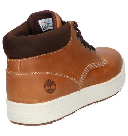 Timberland Cityroam Cupsole Chaussures hautes en Cognac en cuir (253694)