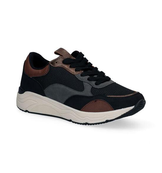 Signatur Chaussures à lacets en Noir