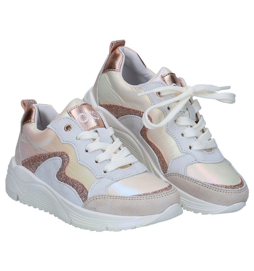 CKS Chloe Sneakers Parelmoer in daim (289324)