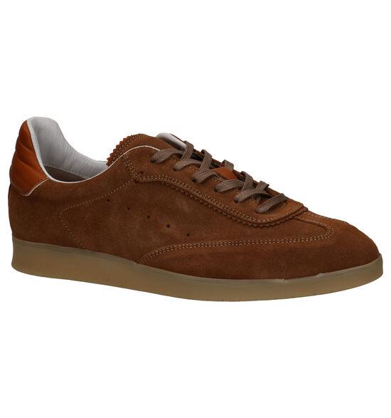Borgo Sport Montreal Chaussures à lacets en Cognac