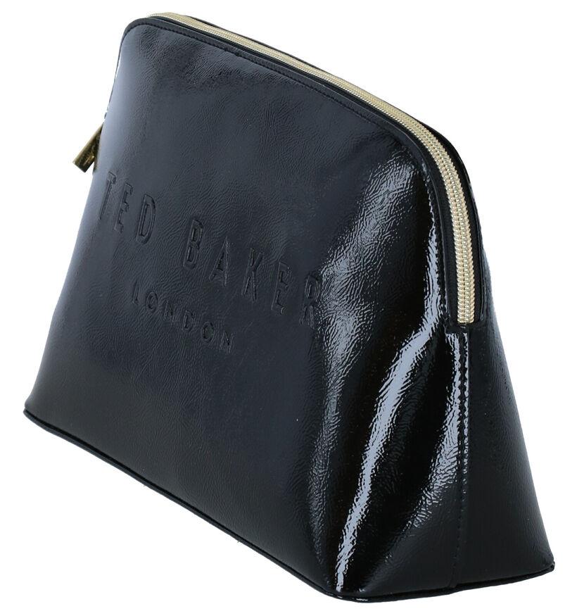 Ted Baker Aaniya Trousse de maquillage en Noir en simili cuir (280399)