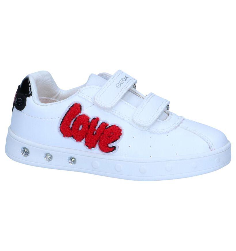 Witte Sneakers Geox in lakleer (237982)