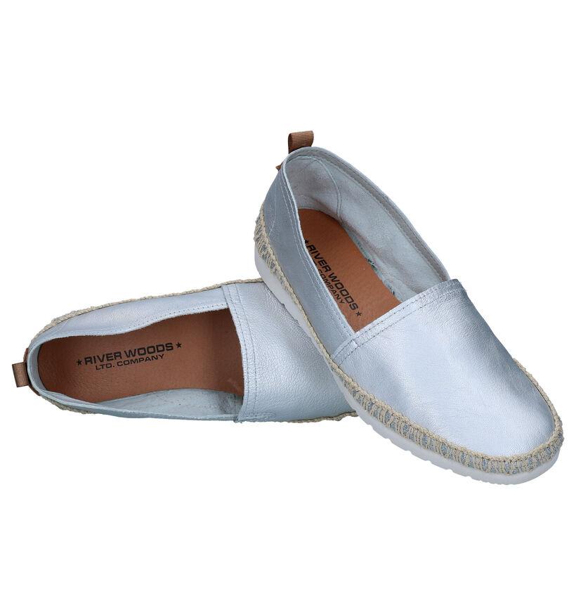 River Woods Chaussures sans lacets en Rose Gold en cuir (289198)