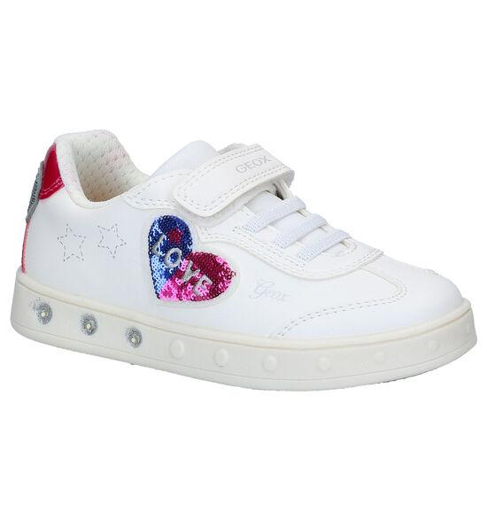 Geox Skylin Witte Sneakers