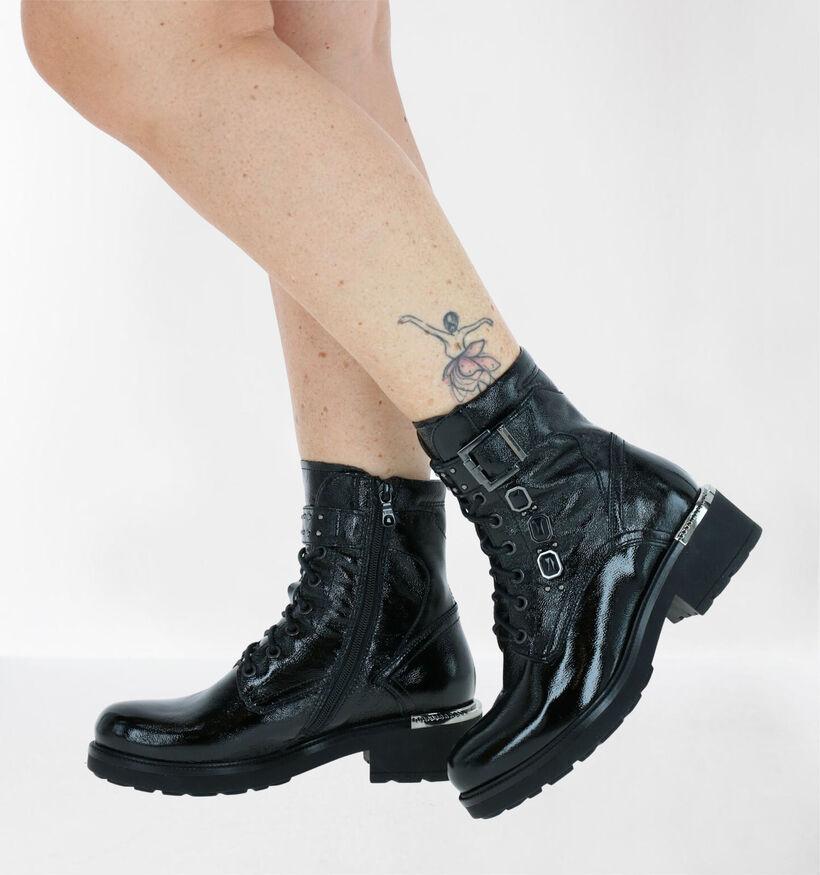 NeroGiardini Zwarte Boots in lakleer (284016)
