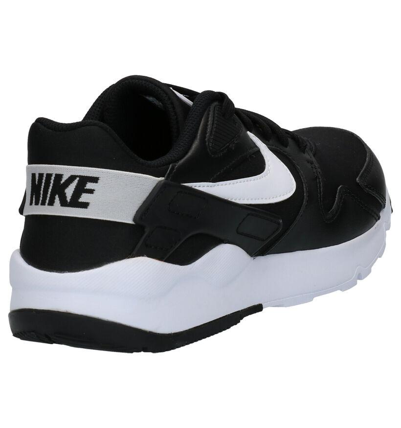 Nike LD Victory Zwarte Sneakers in kunstleer (254032)
