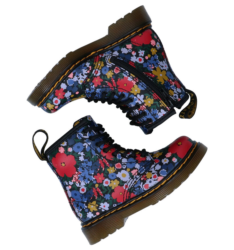 Dr. Martens Wander Flora Multikleur Boots in leer (277268)