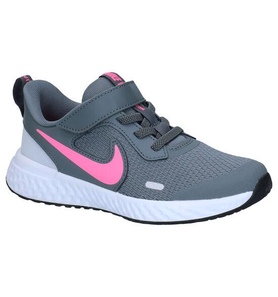 Nike Revolution Grijze Sneakers