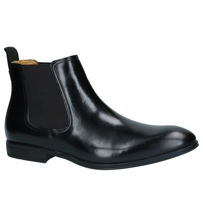 Zwarte Chelsea Boots Steptronic Ford, Zwart, pdp