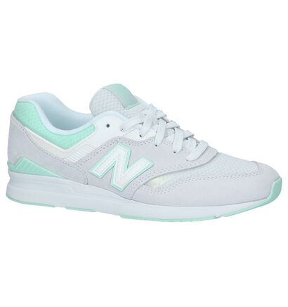 New Balance Baskets basses en Gris en daim (220621)