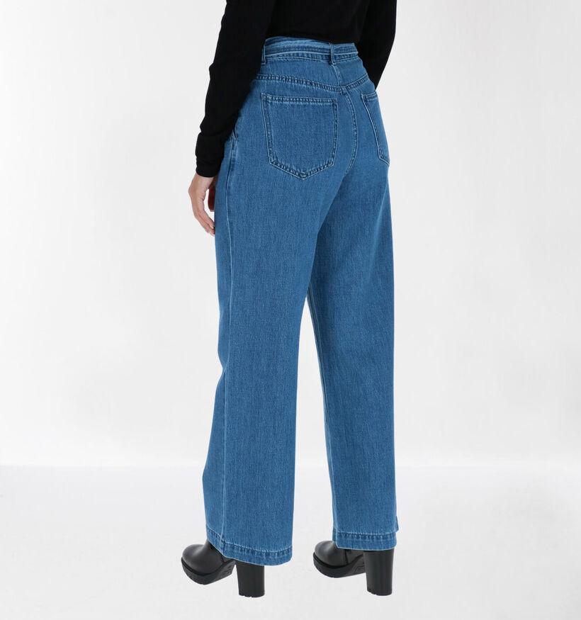 Vero Moda Kathy 30 inch Jeans Large en Bleu (284377)