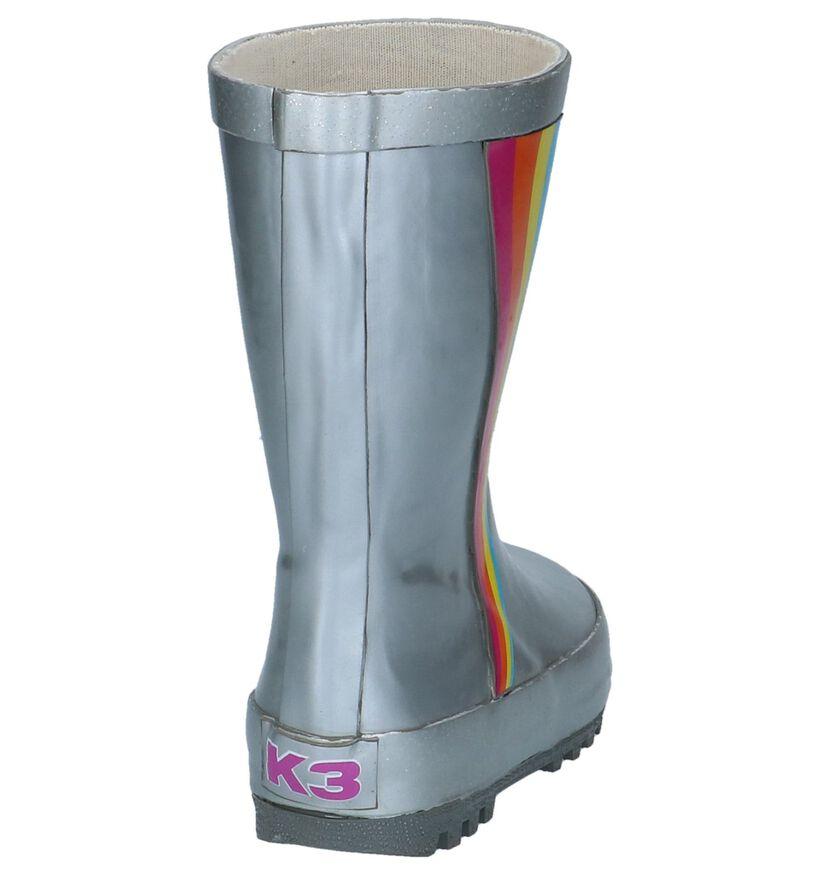 K3 Bottes de pluie en Argent en synthétique (226077)