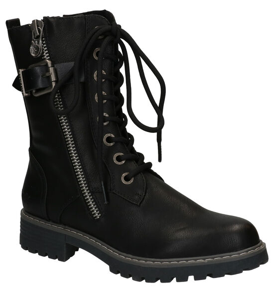 Blowfish Malibu Zwarte Vegan Boots