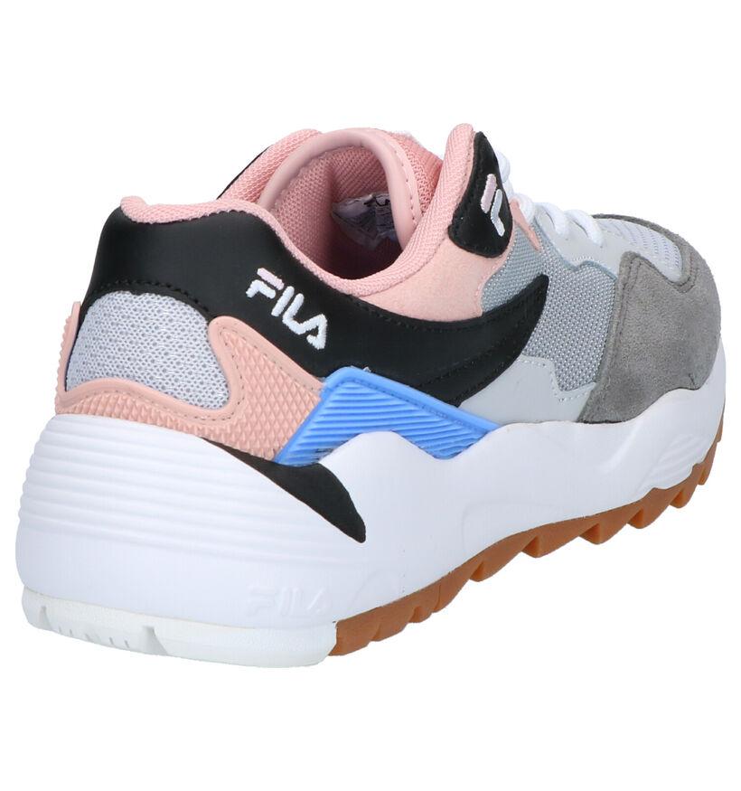 Fila Vault CMR Roze Sneakers in daim (253531)