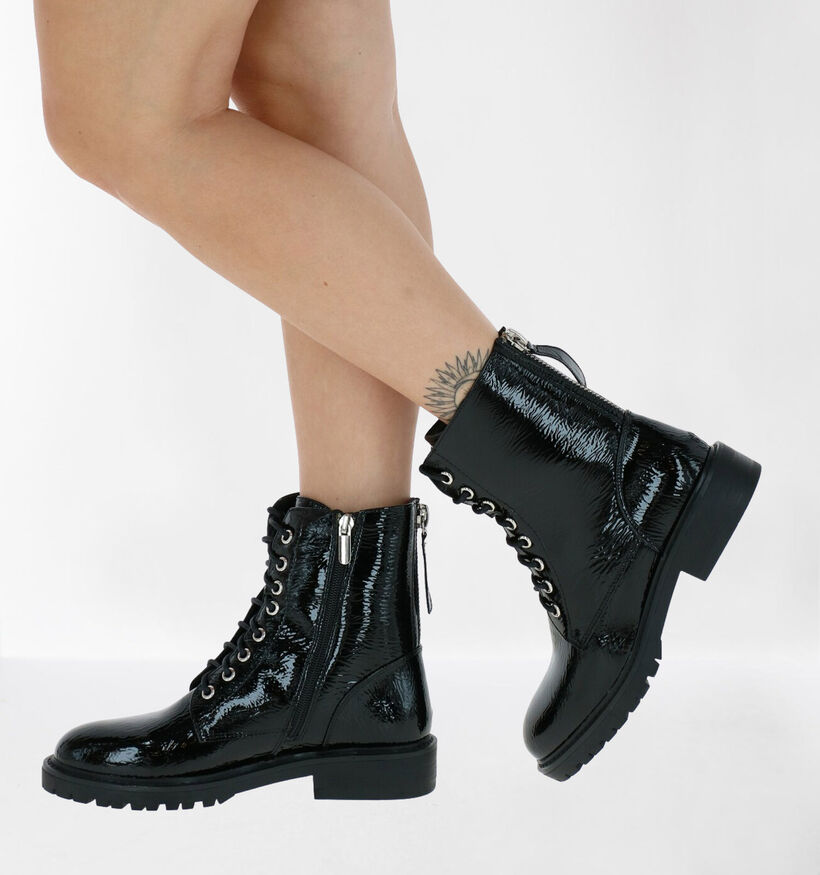Youh! Bottines en Noir en simili cuir (277409)
