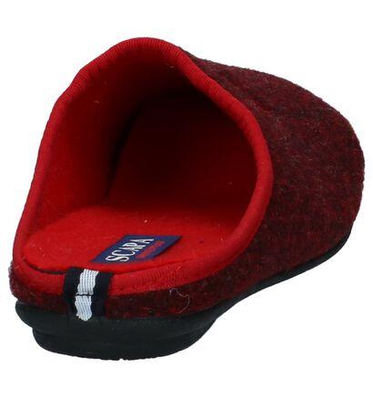 Scapa Pantoufles ouvertes  (Rouge foncé), Rouge, pdp