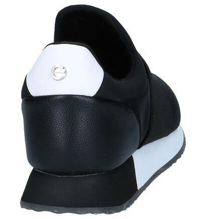 Zwarte Slip-on Sneakers Mexx Charlaine, Zwart, pdp