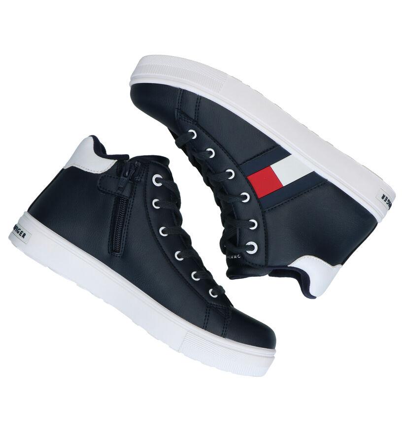 Tommy Hilfiger Blauwe Sneakers in kunstleer (279904)