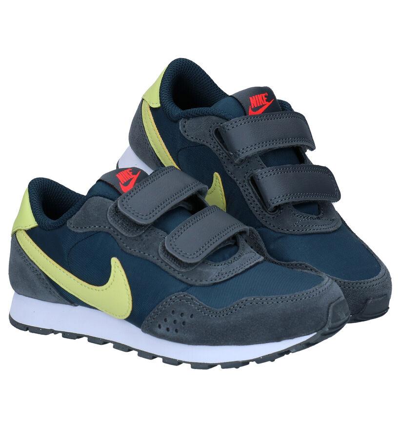 Nike MD Valiant Blauwe Sneakers in stof (277517)