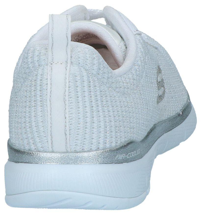 Skechers Flex Appeal 3.0 Baskets en Blanc en textile (273387)