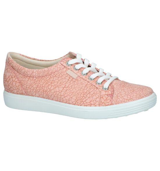 Soft Chaussures à lacets en Rose clair