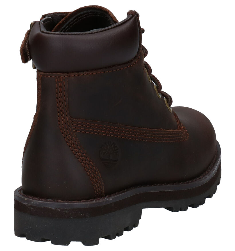 Timberland Courma Kid 6 Inch Bruine Boots in leer (277719)
