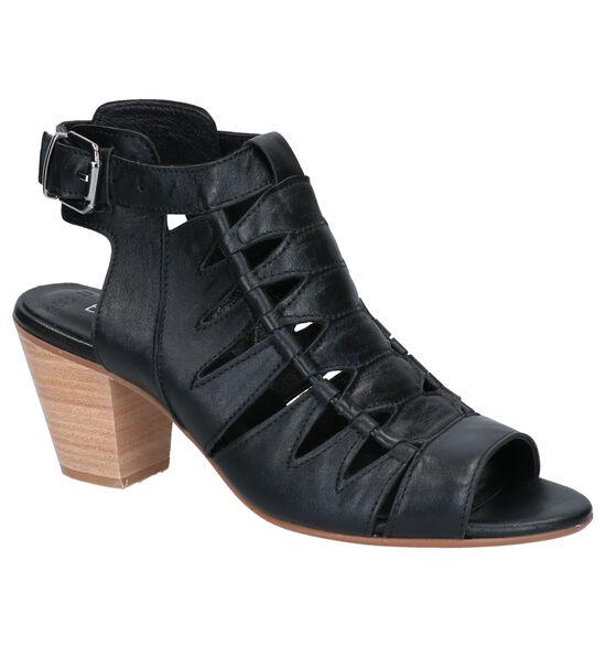 Baboos Zwarte Sandalen