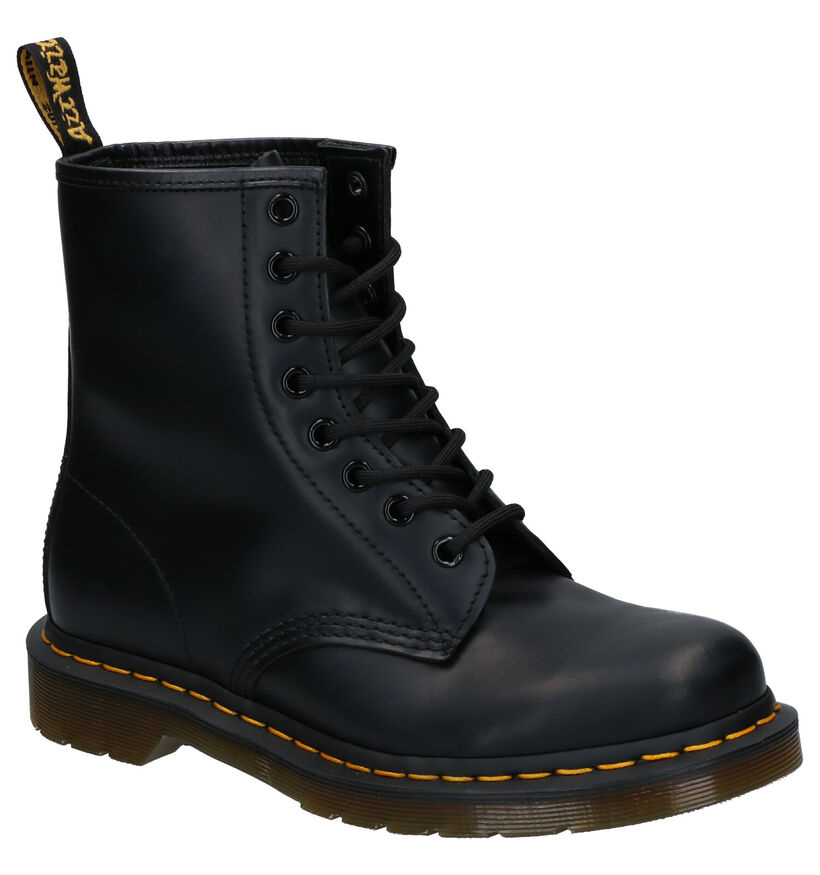 Dr. Martens 1460 Smooth Zwarte Boots in leer (253108)