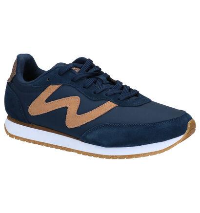 Woden Olivia Witte Sneakers in nubuck (266516)