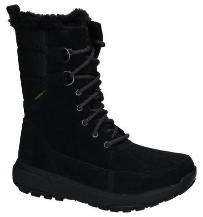 Skechers On-The-Go Bottes de neige en Noir en daim (225935)