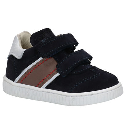 Bumba Chaussures basses en Bleu foncé en daim (261014)