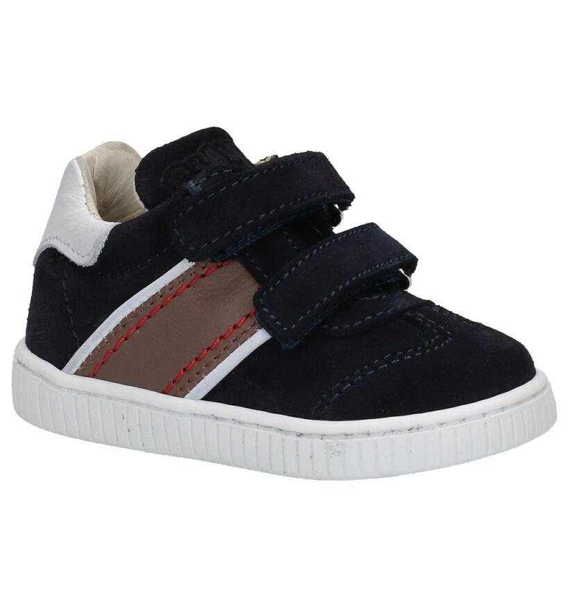 Bumba Chaussures pour bébé  en Bleu foncé en daim (261014)