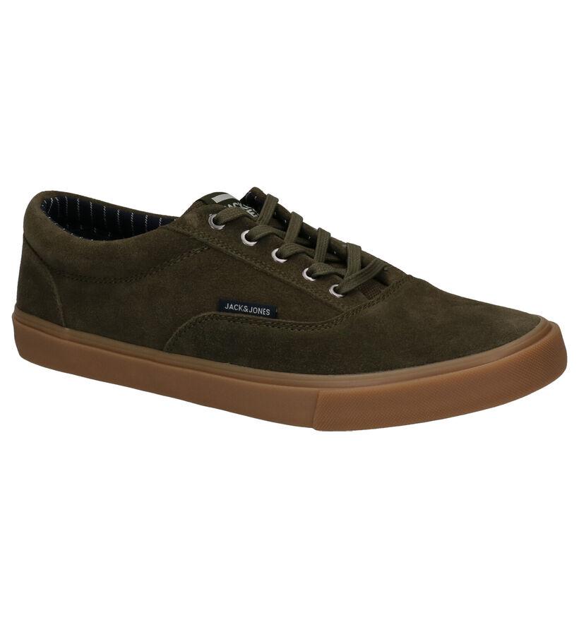 Jack & Jones Vision Bruine Skateschoenen in daim (256066)
