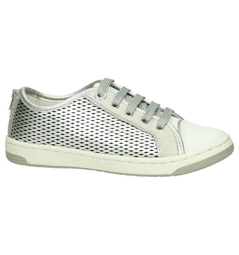 Geox Chaussures basses en Argent en simili cuir (170555)