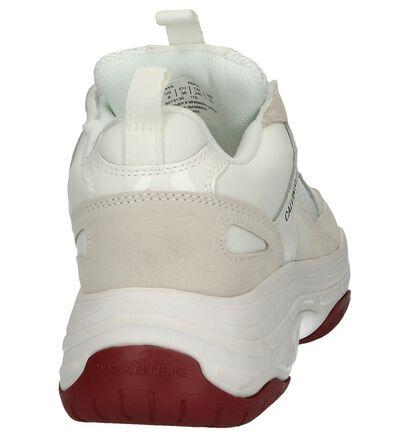 Zwarte Nineties Sneakers Calvin Klein Maya in daim (241605)
