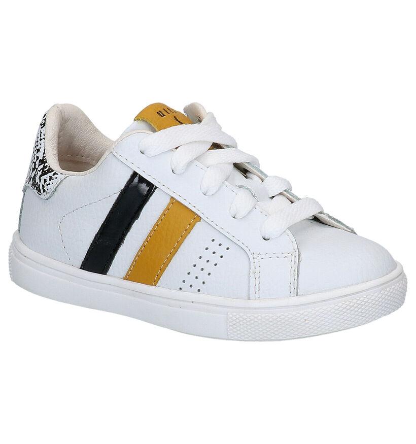 Witte Sneakers Milo & Mila in leer (271095)