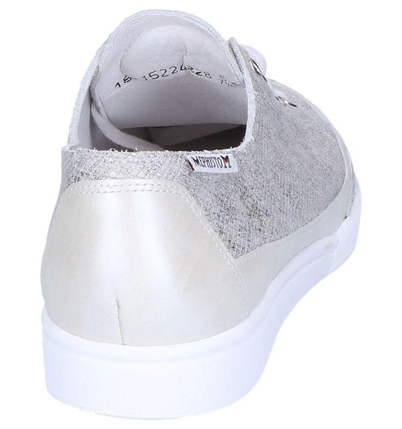 Mephisto Chaussures basses en Argent en cuir (246553)