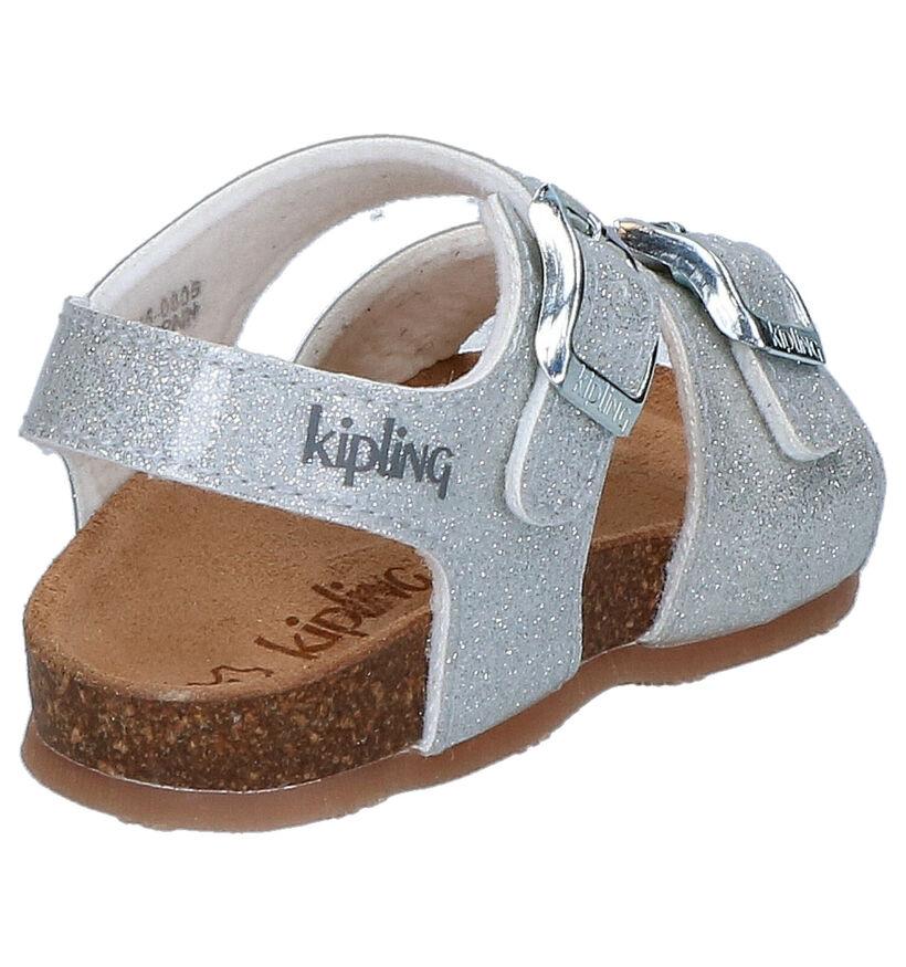 Kipling Nari Zilveren Sandalen in kunstleer (273147)