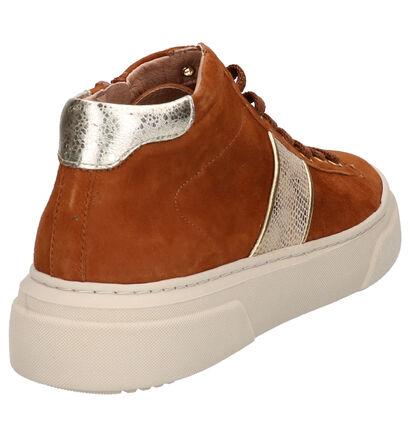 River Woods Soap Zwarte Sneakers in daim (260279)