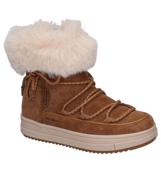 Geox Rebecca Cognac Snowboots