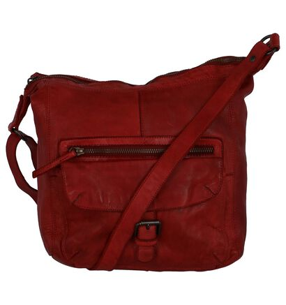Zwarte Crossbody Tas Bear Design , Rood, pdp