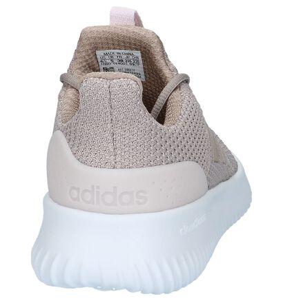 adidas Cloudfoam Ultimate Baskets en Rose en textile (208783)