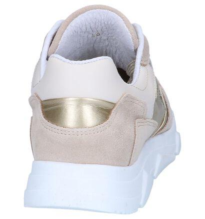 Gele Geklede Sneakers Tango Kady in daim (252198)