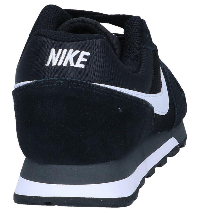 Nike MD Runner Blauwe Sneakers in stof (266539)