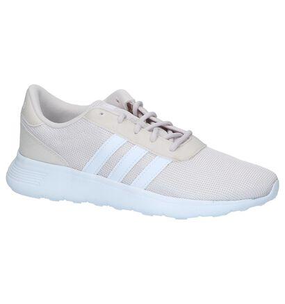 Roze Sneakers adidas Lite Racer W in stof (208778)
