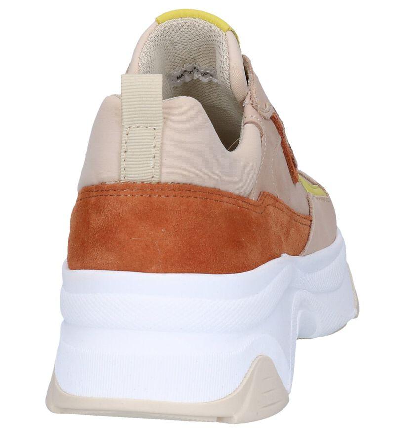 Beige Sneakers Hampton Bays in leer (263755)