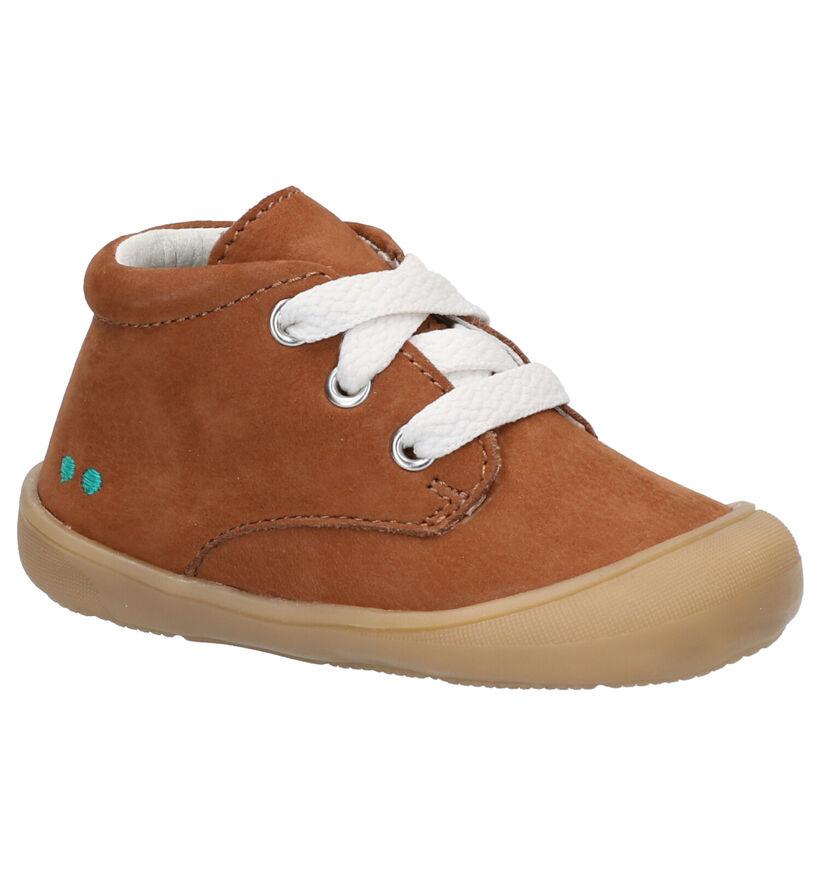 Bunnies Rene Rap Chaussures à lacets en Cognac en daim (275275)