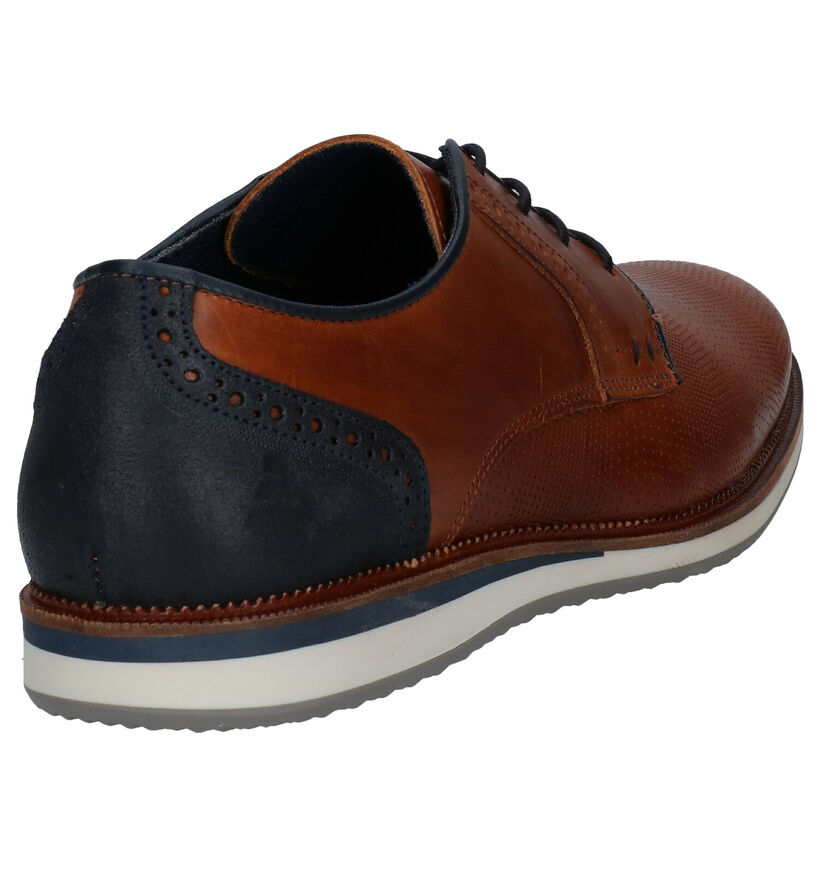 Bullboxer Cognac Veterschoenen in leer (276988)