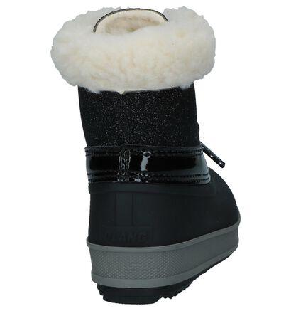 Zwarte Snowboots Olang Ol Ape Lux in kunstleer (230914)