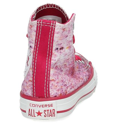 Converse CT All Star Hi Sneaker Roze in stof (155596)